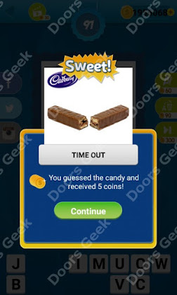 Answers, Cheats, Solutions for Guess the Candy Level 91 for android and iphone