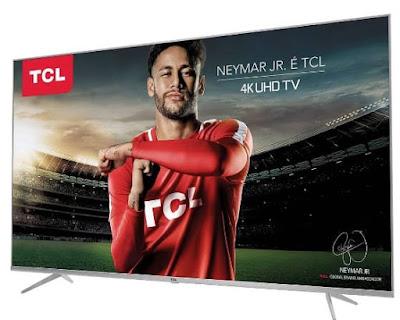 """Foto da Smart TV LED 50"""" TCL 4K HDR P6US 3 HDMI"""