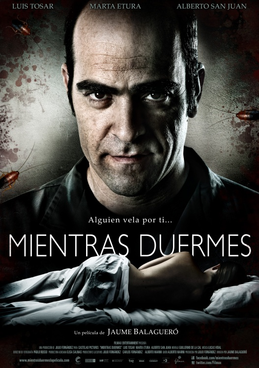 Póster Mientras duermes