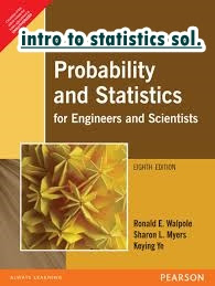 Solution of probability and statistics for engineers and scientists