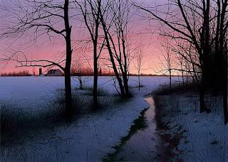 vistas-amaneciendo-pinturas-realistas
