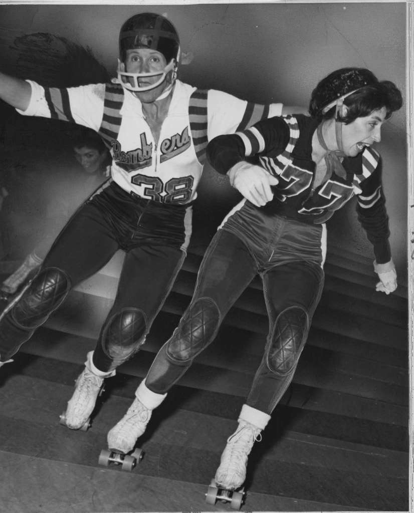 picture Joan Weston roller derby