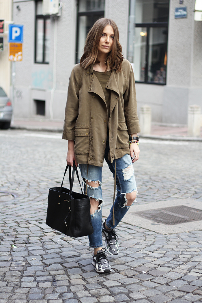 Womens Olive Green Suede Shoes