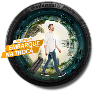 Promoção Continental Pneus 2017 Embarque Na Troca