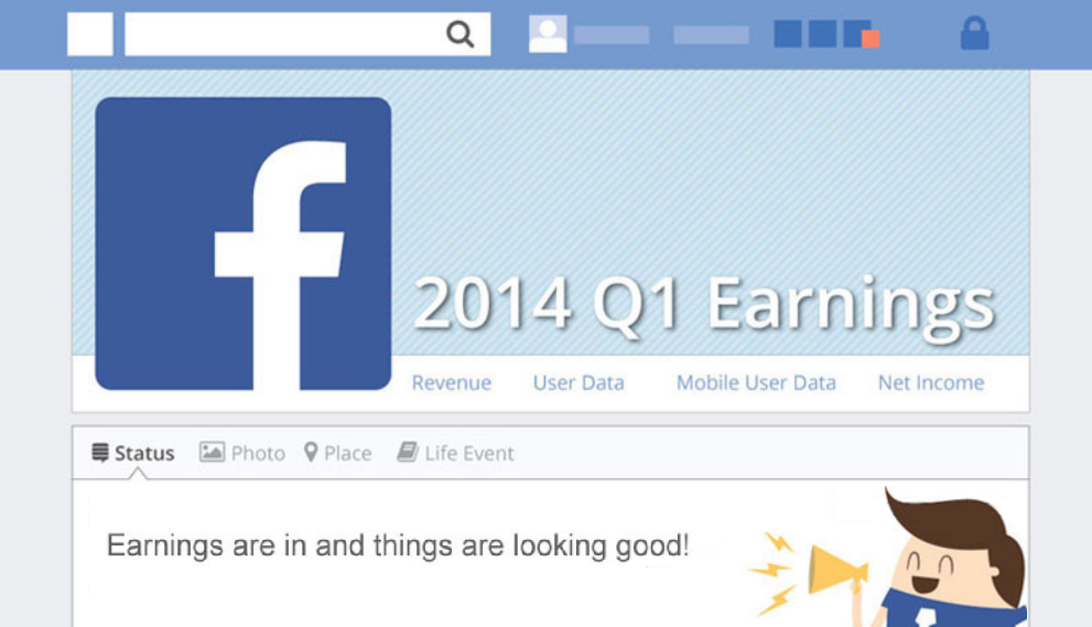 Earning Are In And Things Are Looking Good: Facebook's Q1 Performance - infographic