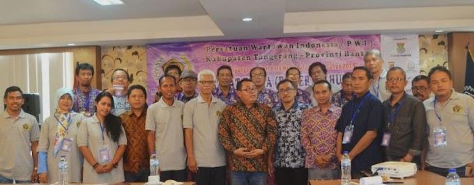 PWI Kabupaten Tangerang Gelar Raker