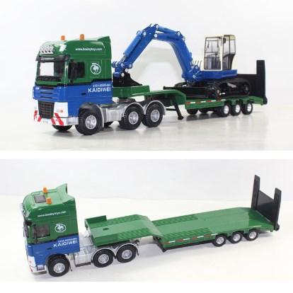 truk gandeng mainan unik
