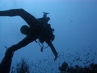 claudio di manao sott'acqua