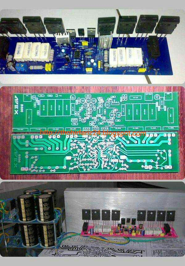 30w Power Amplifier Circuit Diagram 30 Watt Audio Amplifier Pcb