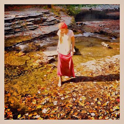 fall+walk - Lotus Stack Organic Maxi Worn Short or Long