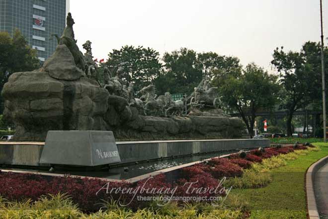 arjuna wijaya statue