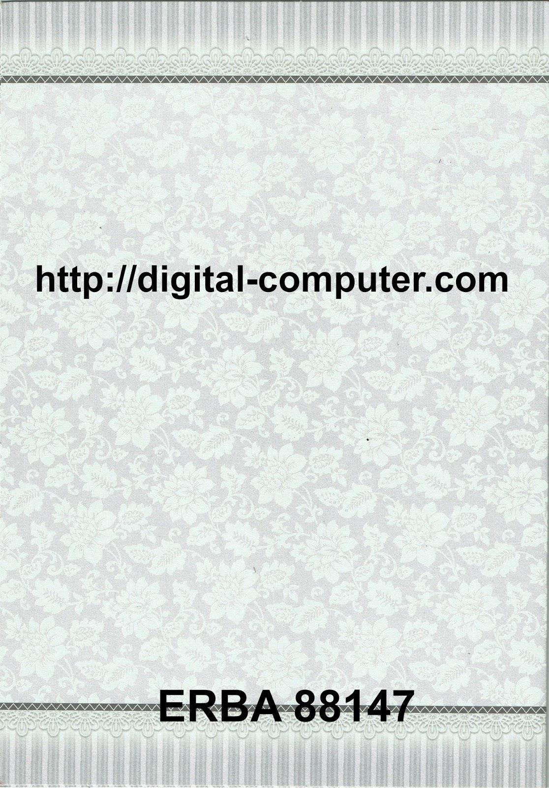 Undangan Softcover ERBA 88147