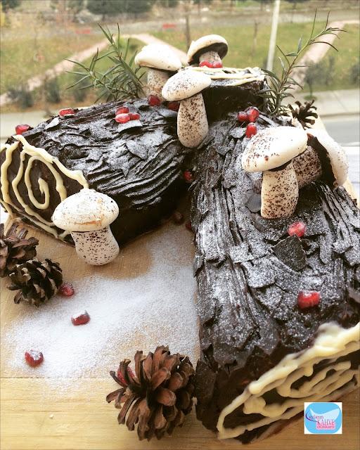 Lezzetli ve Şık Kütük Pasta Tarifi