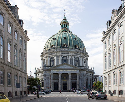 Photograph of Frederik's Church, Copenhagen