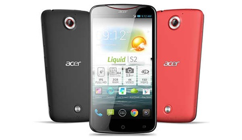 Acer Liquid S2 Now Official