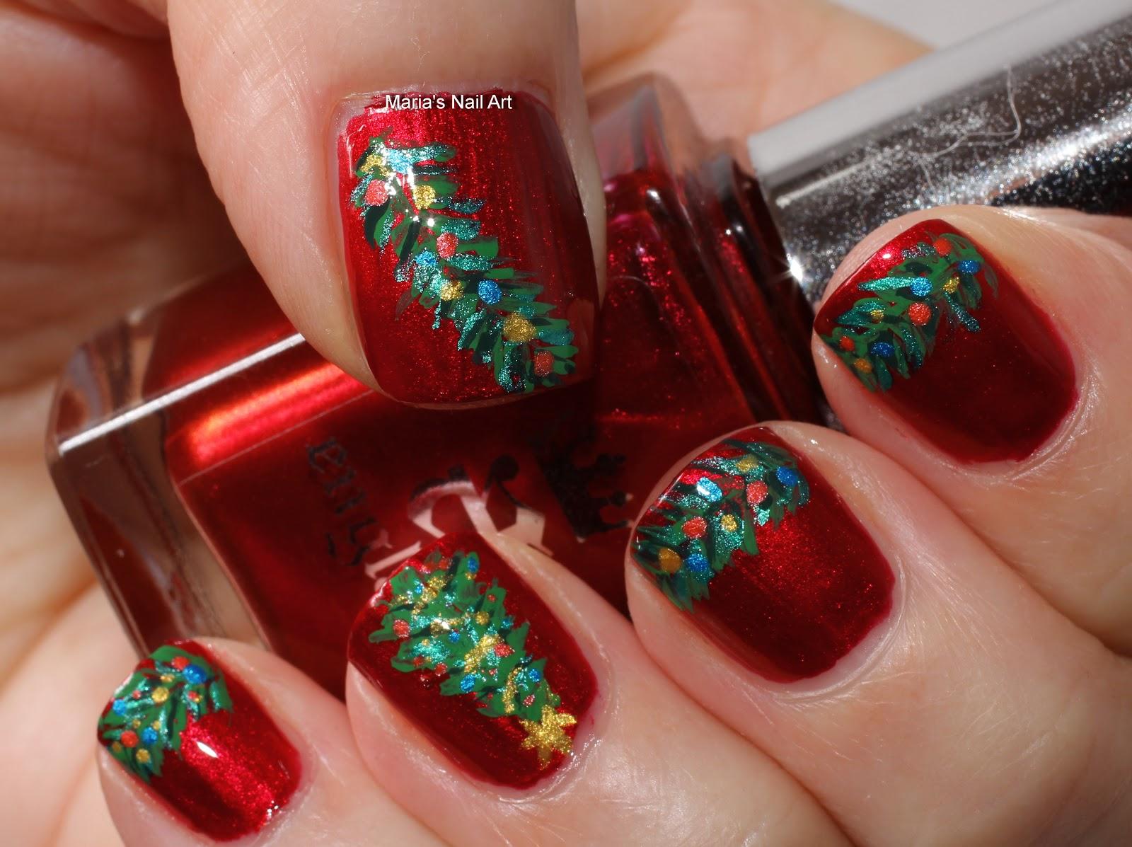 Unique Christmas Nail Designs