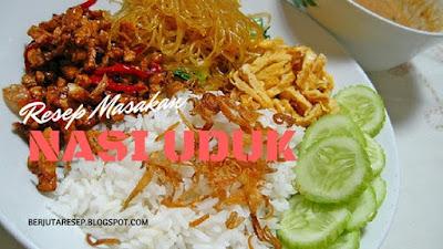 Cara memasak nasi uduk khas Jakarta