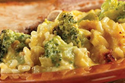 Broccoli Rice Casserole from Scratch
