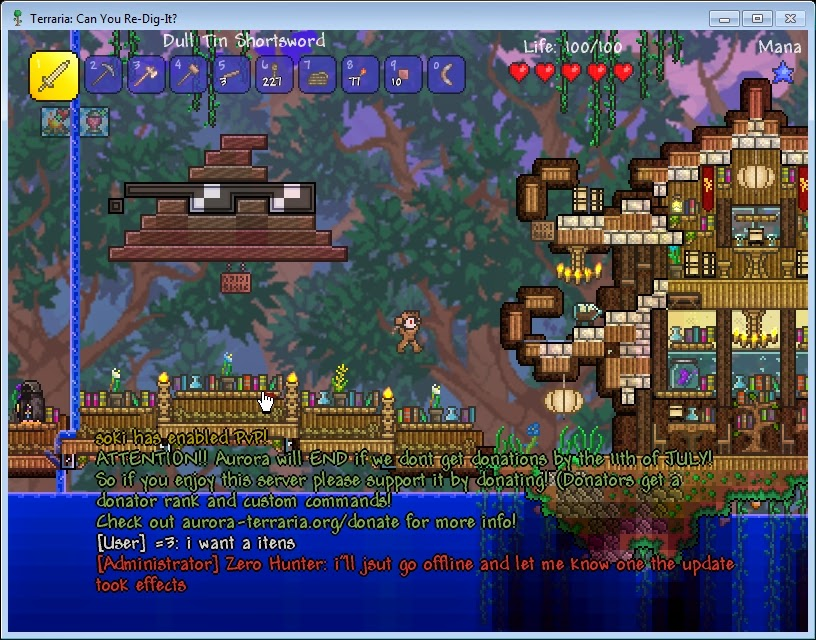 Terraria multiplayer servers android