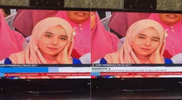 Kenali Siapa Gadis Yang Kenyit Mata Di Berita TV3 Yang Buat Ramai Lelaki Bergetar Tulang Rusuk