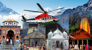 Chardham Yatra by Helicopter- 06 Days / 05 Nights | Contact : 9953634444 | Temple Darshan