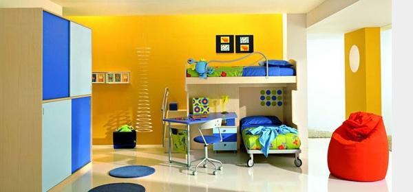 Apakah Anda ingin mengubah ruangan yang membosankan menjadi ruangan yang menarik Desain Kamar Tidur Kreatif Penuh Warna