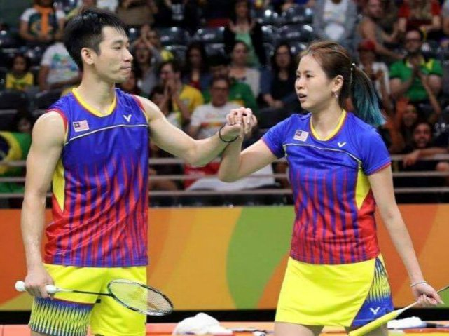 Chan Peng Soon and Goh Liu Ying at the 2016 Rio Olympics