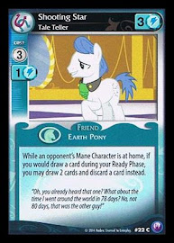 My Little Pony Shooting Star, Tale Teller Canterlot Nights CCG Card