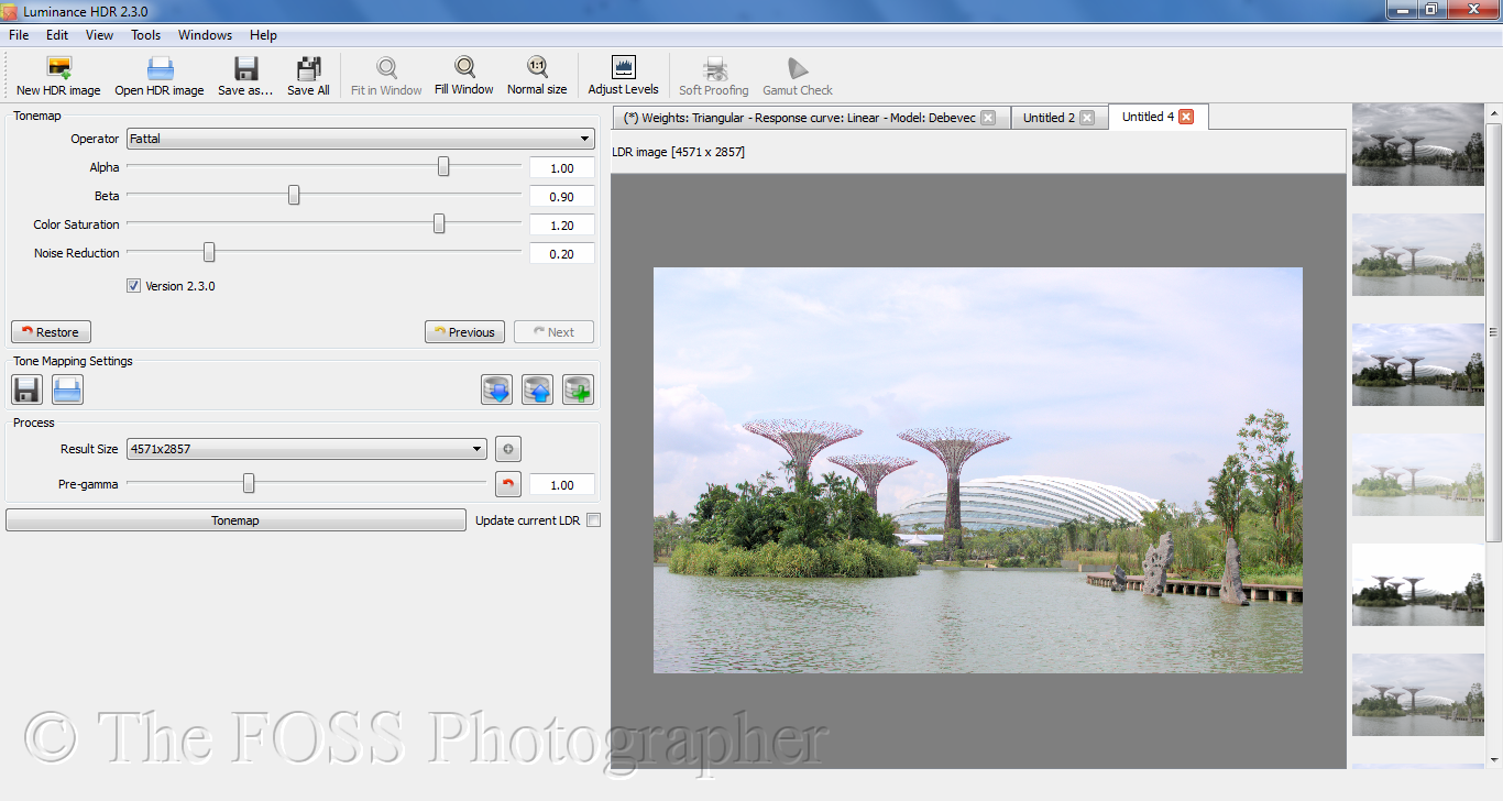 Tutorial: Grunge up an image using Luminance HDR and the GIMP