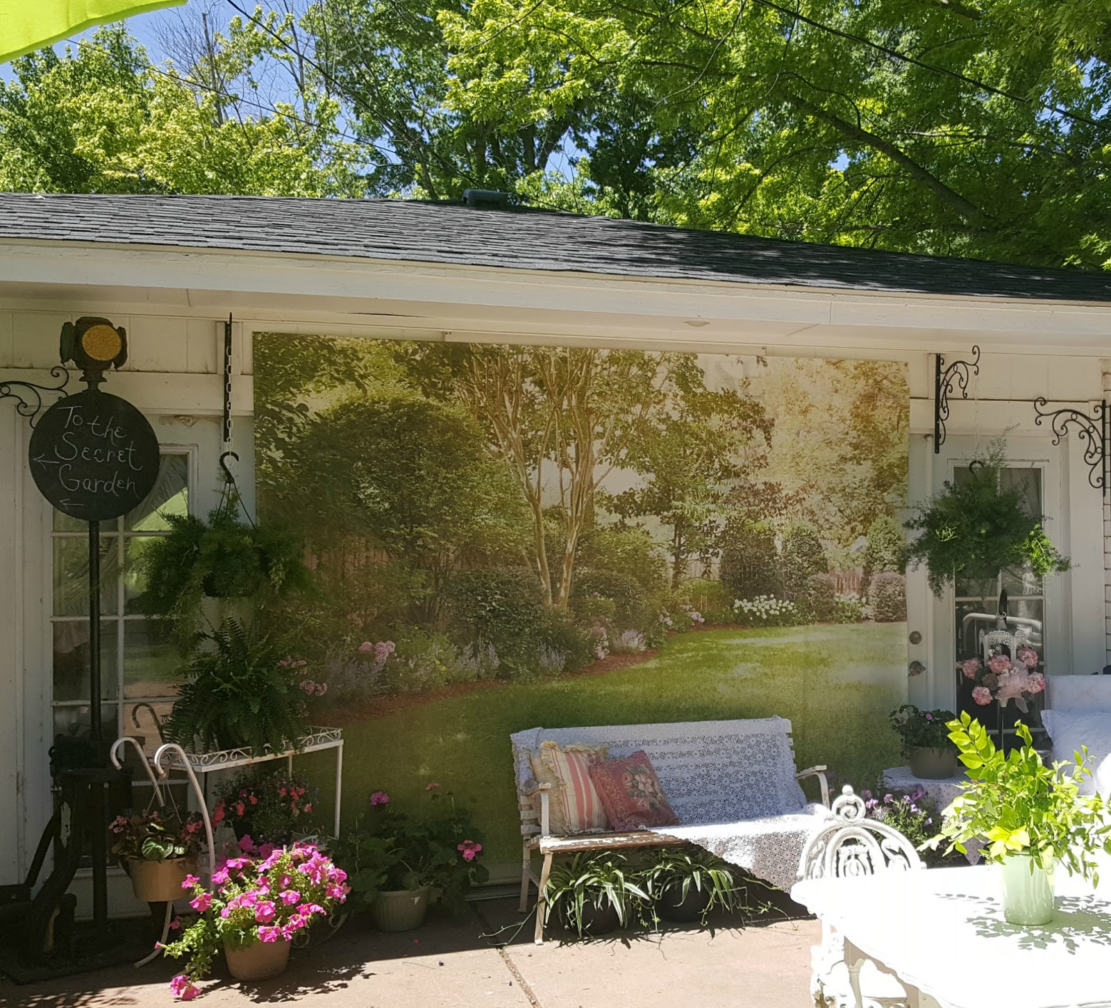 Penny 39 S Vintage Home Yard Artwork Or Photography Backdrop
