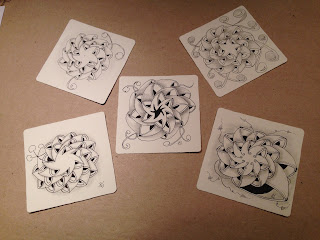 Zentangle Kurs Hamburg Beate Winkler CZT Schnucki-bee-Doo