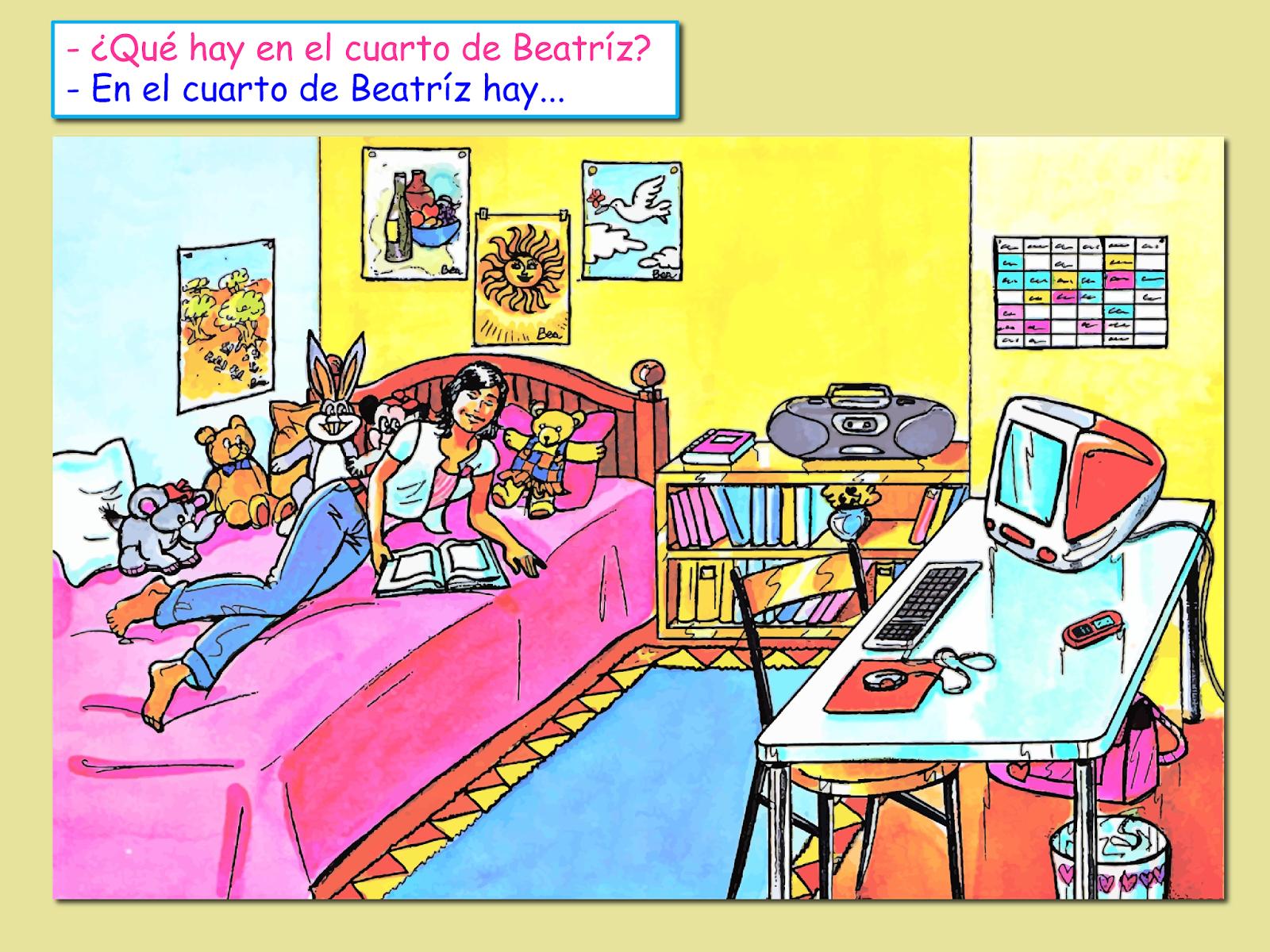 Mis Clases De Espanol Mi Habitacion Y6