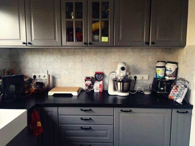 keuken na ochtendroutine