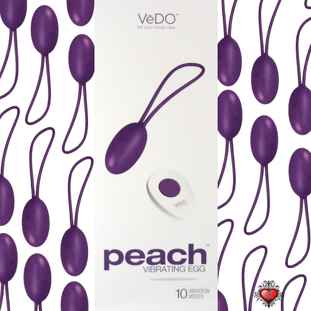 VeDO Peach Vibrating Egg at The Spot Dallas