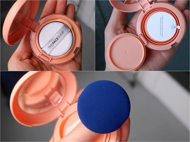 THEFACESHOP Hydro Cushion Blush in Peach