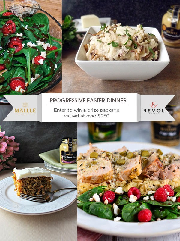 Progressive Easter Dinner | by Life Tastes Good and friends | #Gourmet #Holiday