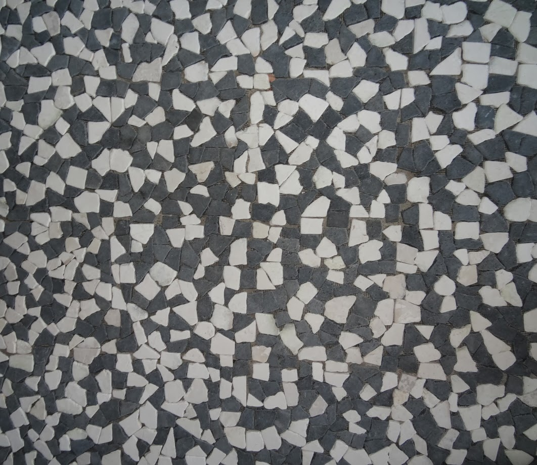 River Rock Tile Shower Floor Pebble Tile Manufacturers, Indonesia Pebble Tile Shower
