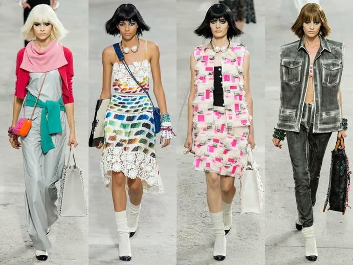 901f814f7d8 Коллекция весна-лето 2014 от модного дома Chanel
