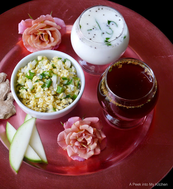 Neer mor, Panagam and Vada Paruppu (Sri Rama Navami Recipes) ~ Day 92
