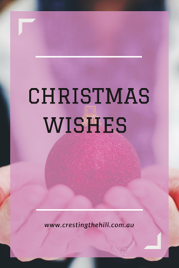 Wishing you a blessed and happy Christmas and a big thank you for following my blog