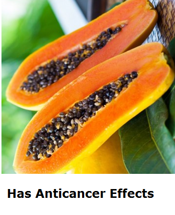 Health Benefits of Papaya - Paw paw Has Anticancer Effects