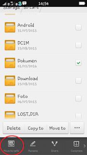 Menyembunyikan File di Android