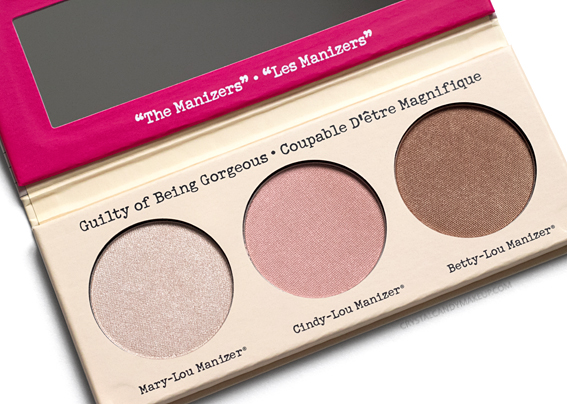 TheBalm The Manizer Sisters Highlighters Palette Review Cindy Betty Mary-Lou