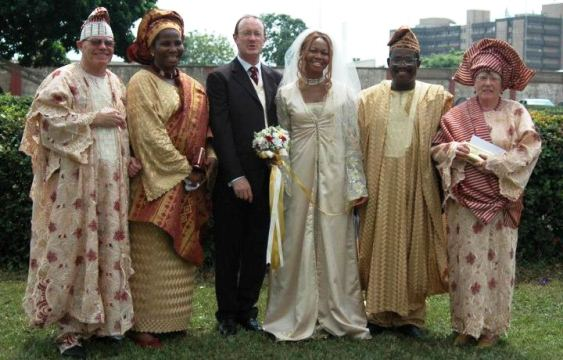Goldie's husband shares their wedding photos