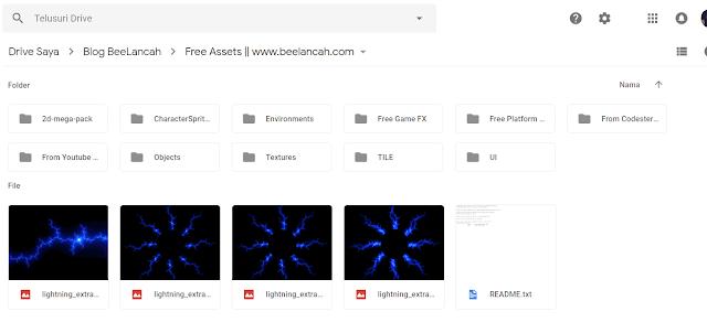 Inilah Kumpulan Website dan Assets Game 2D GRATIS