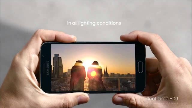 смартфон Самсунг з хорошою камерою: Galaxy S6 SM-G920F 32Gb