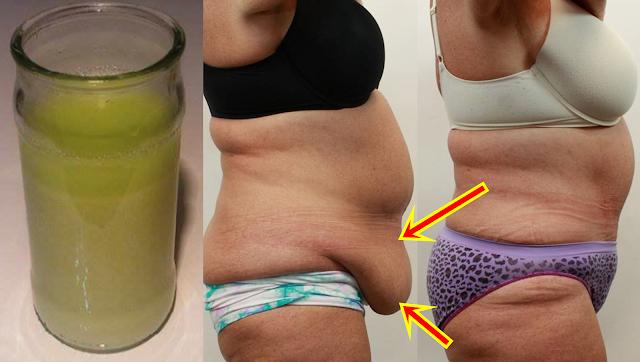 Toma un vaso pequeño de esto, antes de dormir para quemar la grasa abdominal y la flacidez del vientre