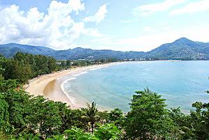 Pemandangan Kamala Beach
