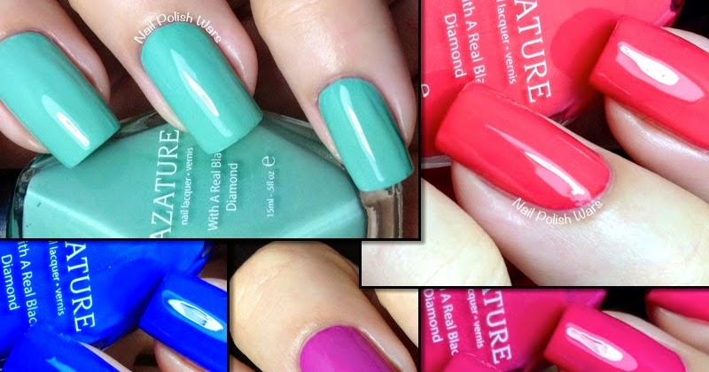Nail Polish Wars Azature Summer 2014 Collection Swatch Review