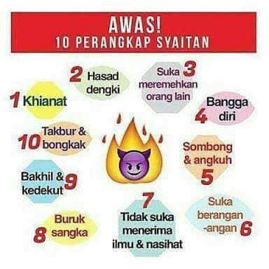 Awas! 10 Perangkap Syaitan.